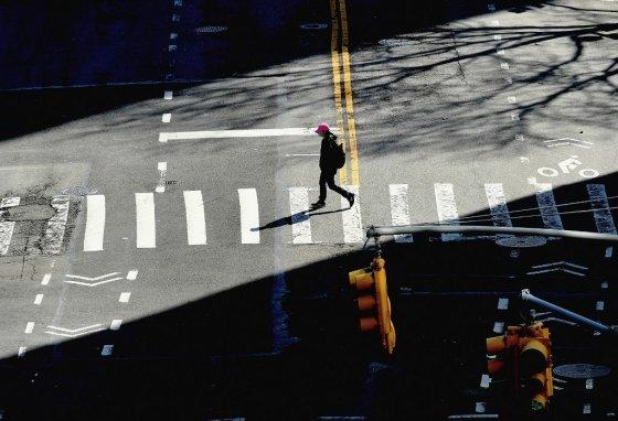 지난 27일 미국 뉴욕 거리 모습. /AFPBBNews=뉴스1