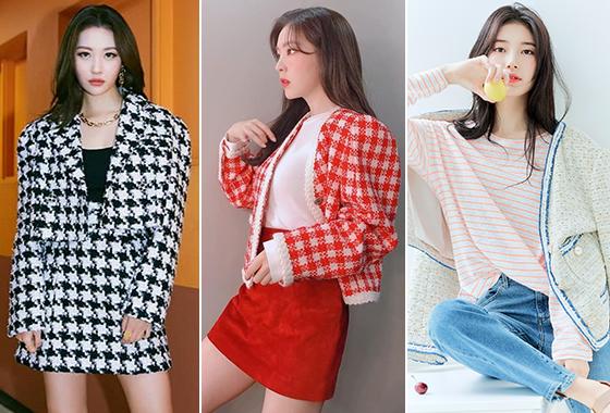 가수 선미, 그룹 레드벨벳 아이린, 가수 겸 배우 수지/사진=각 스타 인스타그램, 게스