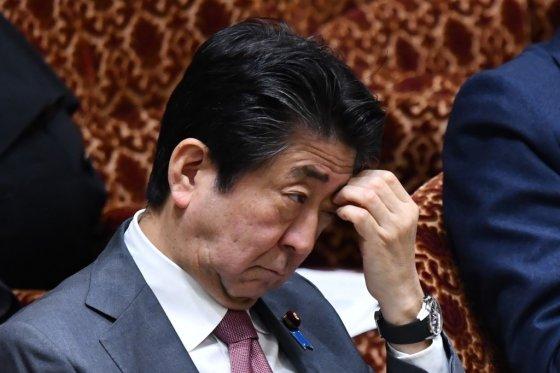 아베 신조 일본 총리/사진=AFP