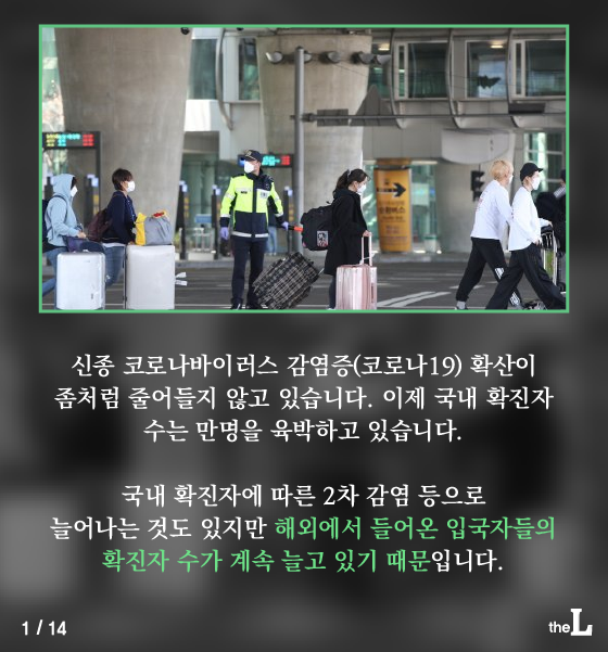[카드뉴스] '자가 격리 권고' 무시하는 입국자들