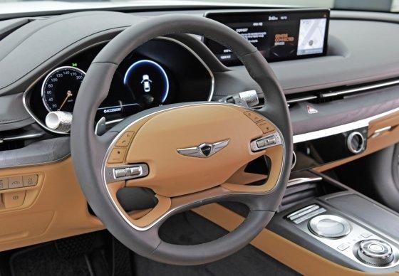 제네시스 '신형 G80' 운전석. /사진제공=현대차그룹