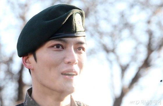가수 겸 배우 김재중./사진=김창현 기자