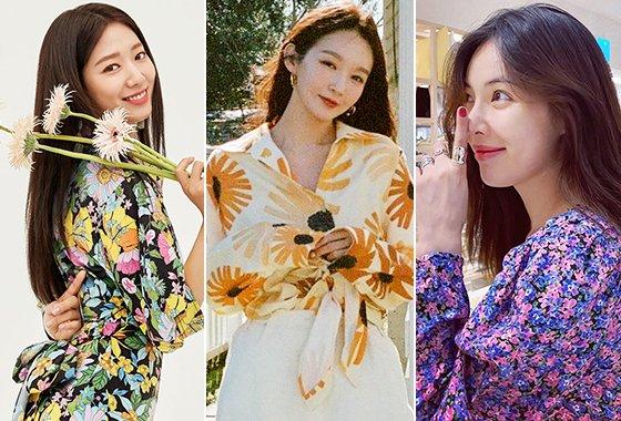 배우 박신혜, 그룹 다비치 강민경, 가수 현아/사진=모조에스핀, 각 스타 인스타그램