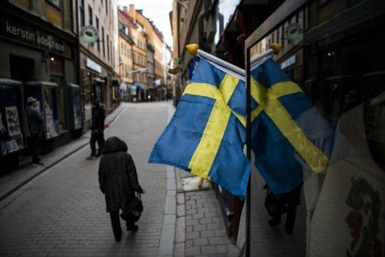 지난달 25일(현지시간) 스웨덴 스톡홀름 거리. /사진=AFP