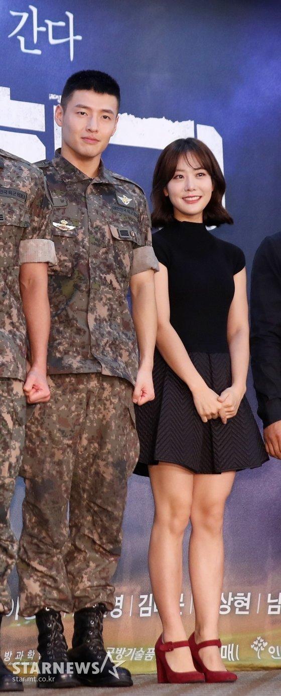 사진 왼쪽부터 배우 강하늘과 뮤지컬 배우 이태은./사진=스타뉴스