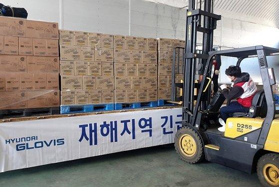 현대글로비스, 코로나19 긴급 구호품 1000톤 무상 운송