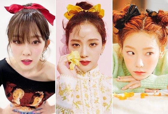 그룹 레드벨벳 아이린, 그룹 블랙핑크 지수, 가수 태연/사진=각 스타 인스타그램