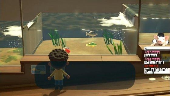 닌텐도의 게임 '동물의 숲'을 플레이하는 방송인 유민상. /사진 = 유민상 유튜브