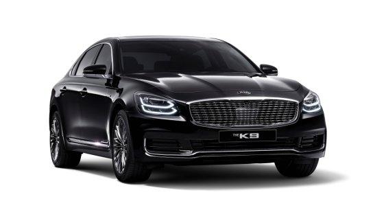 기아차 '더 K9 2021년형'. /사진제공=기아차