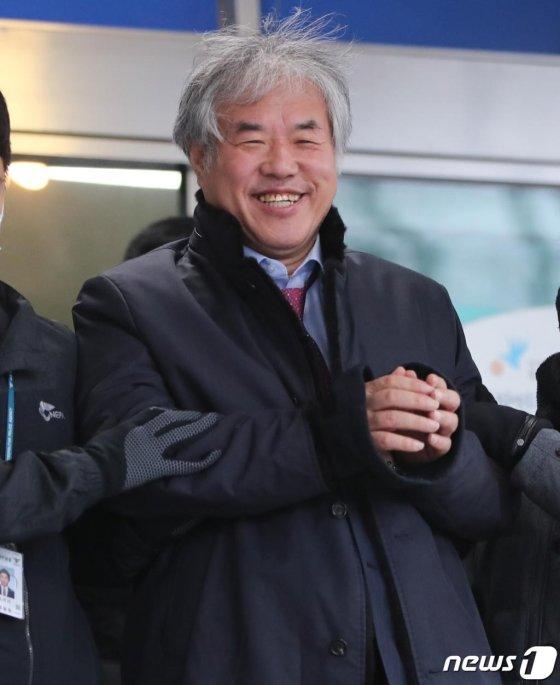 공직선거법 위반 혐의를 받고 있는 전광훈 목사(한국기독교총연합회 대표회장)