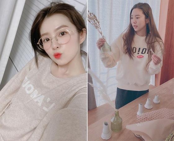 /사진=그룹 레드벨벳 아이린, 가수 손담비 인스타그램