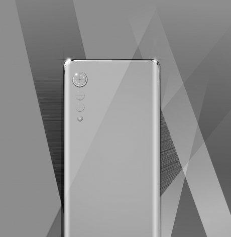 내달 국내 시장에 출시 예정인 전략 스마트폰 디자인 렌더링 /사진=LG전자