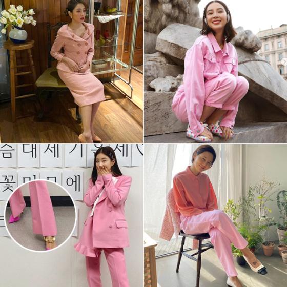 /사진=그룹 레드벨벳 예리, 모델 아이린, 배우 기은세, 방송인 김나영 인스타그램