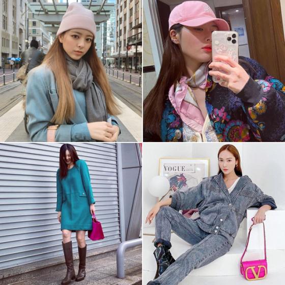 /사진=그룹 있지 유나, 가수 현아, 패션사업가 제시카 인스타그램