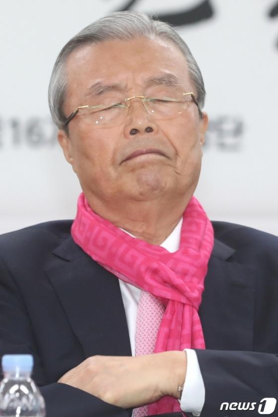 김종인, 차명진 '제명'아닌 '탈당 권유' 결정에