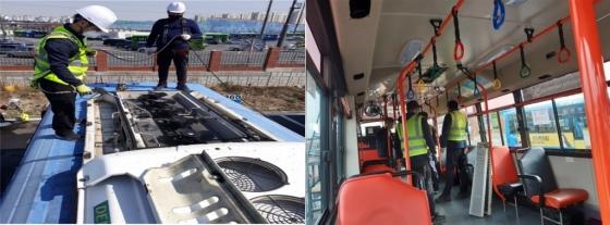 서울시, 모든 시내버스 에어컨까지 100% 방역...
