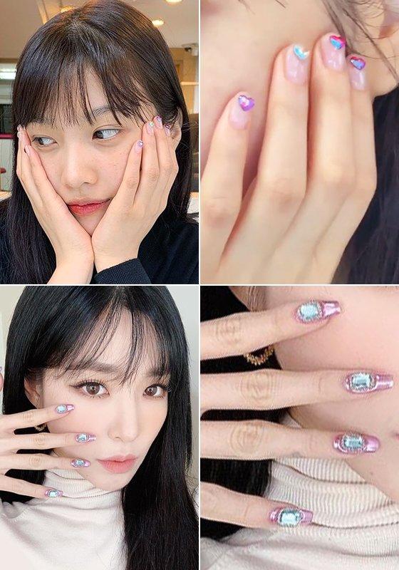 그룹 레드벨벳 조이, 가수 티파니영/사진=각 스타 인스타그램