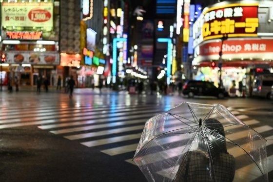 지난 11일 도쿄 시내 거리 모습. /AFPBBNews=뉴스1