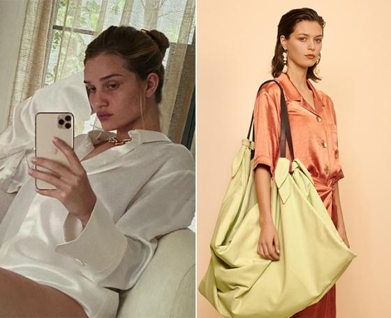 /사진=모델 로지 헌팅턴 휘틀리 인스타그램, 나누시카 2020 S/S 컬렉션