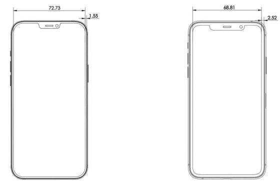 아이폰12 프로 맥스와 아이폰11 프로 맥스 크기 비교 /사진=폰아레나