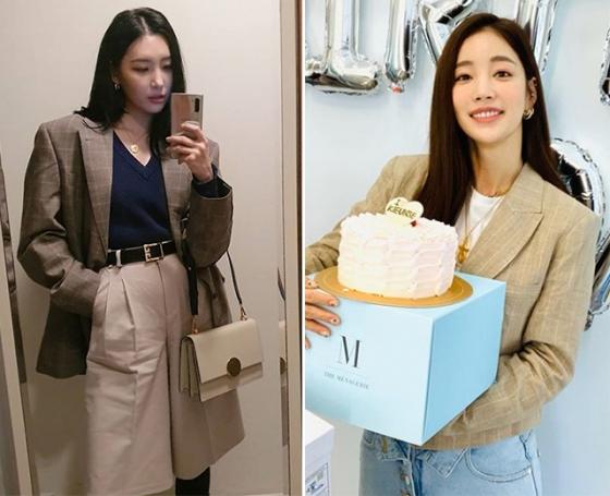 /사진=가수 선미, 배우 기은세 인스타그램