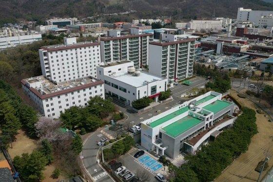 LG디스플레이 경북 구미 동락원 전경. /사진제공=LG디스플레이