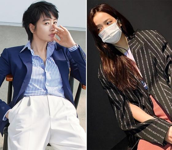 배우 김혜수, 그룹 블랙핑크 지수 /사진=하퍼스 바자, 인스타그램