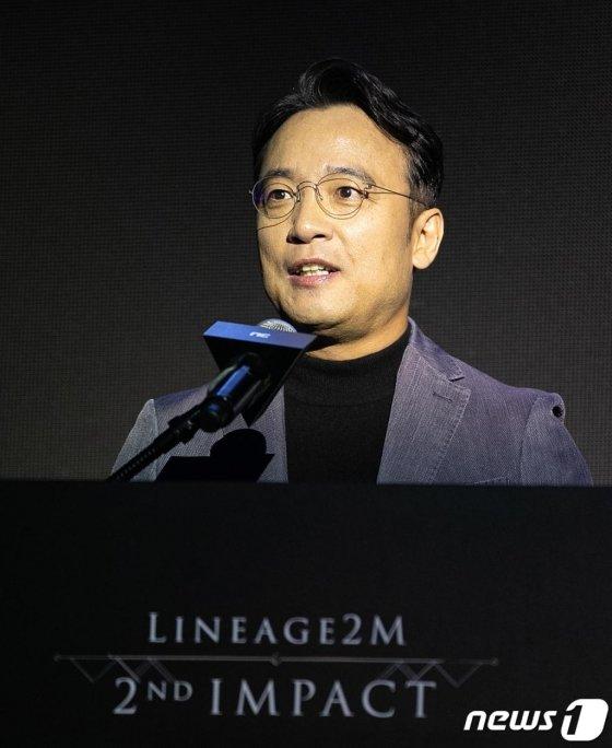 김택진 엔씨소프트 대표. 2019.9.5/뉴스1