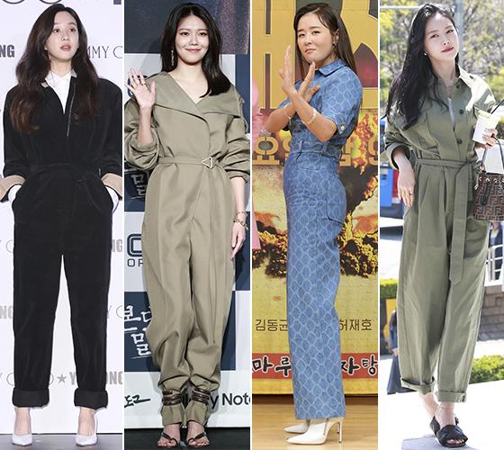 배우 정려원, 가수 겸 배우 최수영, 배우 최강희, 그룹 에이핑크 손나은/사진=머니투데이 DB, 뉴스1