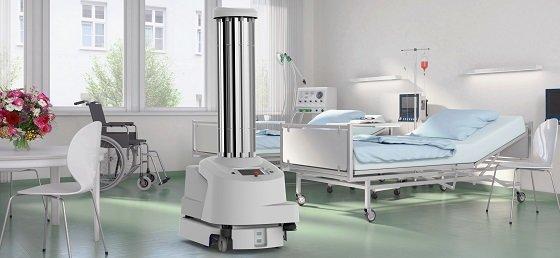 병원용 멸균 로봇(UVD)/사진=블루오션로보틱스