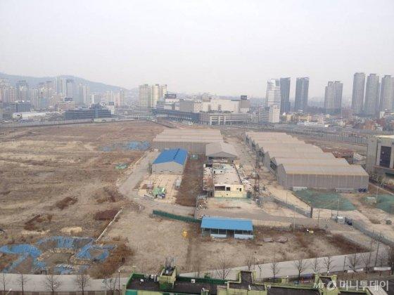 서울 용산 철도정비창 전경/사진= 이재윤 기자