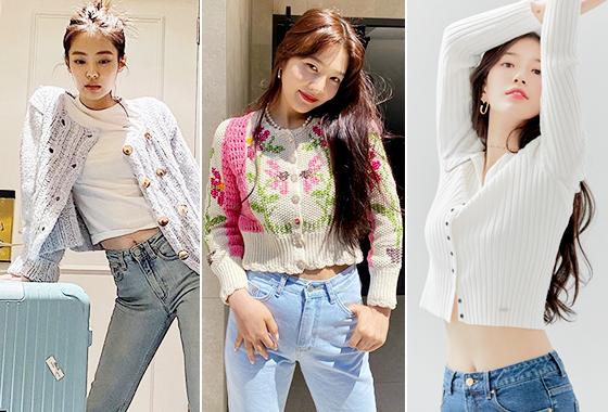 그룹 블랙핑크 제니, 레드벨벳 조이, 가수 겸 배우 수지/사진=각 스타 인스타그램, 게스