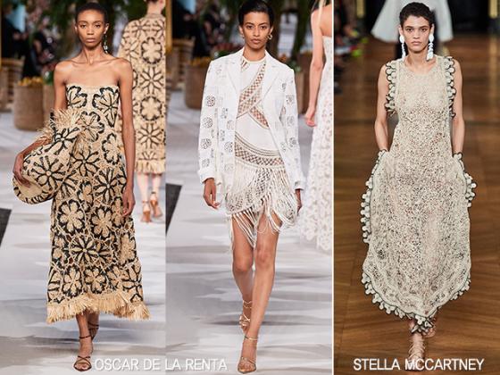 /사진=오스카 드 라 렌타, 스텔라 맥카트니 2020 봄여름 컬렉션