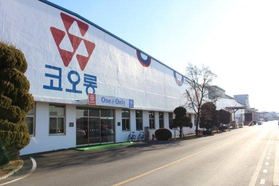 코오롱인더스트리 경산 공장 전경. /사진제공=코오롱그룹