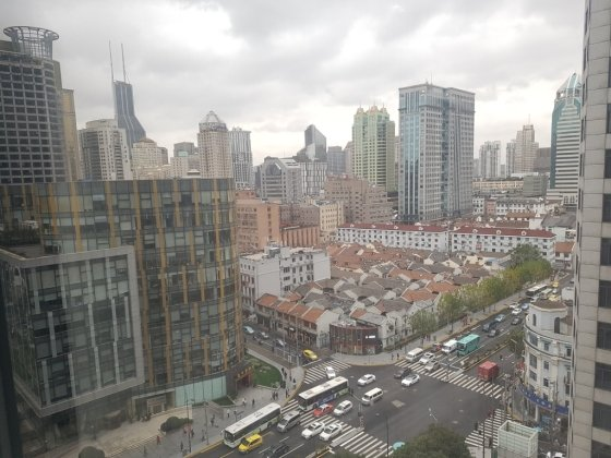 중국 상하이의 한 길거리. /사진 = 박수현 기자