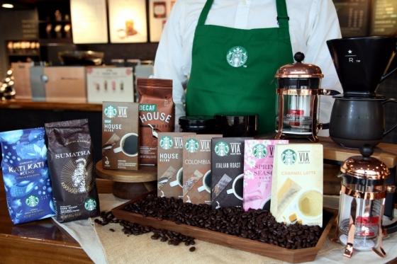 스타벅스도 집에서, 원두·스틱형 커피 판매 ↑