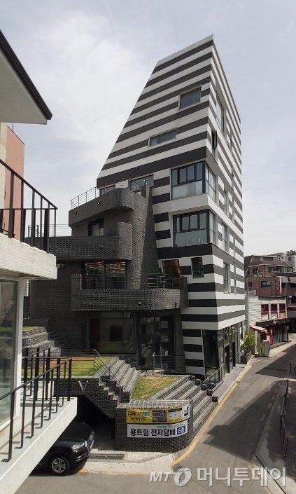 서울 마포구 서교동에 위치한 배우 공효진의 건물 /사진=송선옥 기자