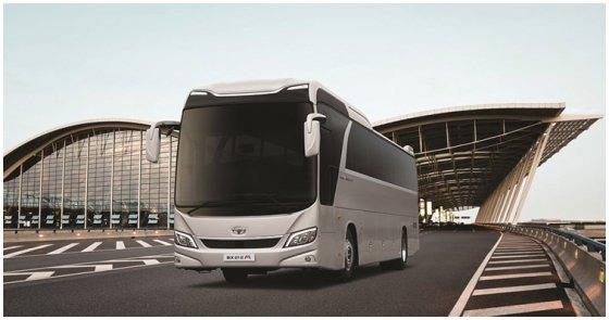 자일대우상용차(대우버스) 제품인 BX212M. /사진=자일대우상용차 홈페이지