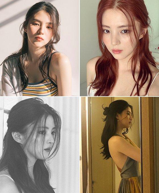 배우 한소희/사진=배럴, 한소희 인스타그램