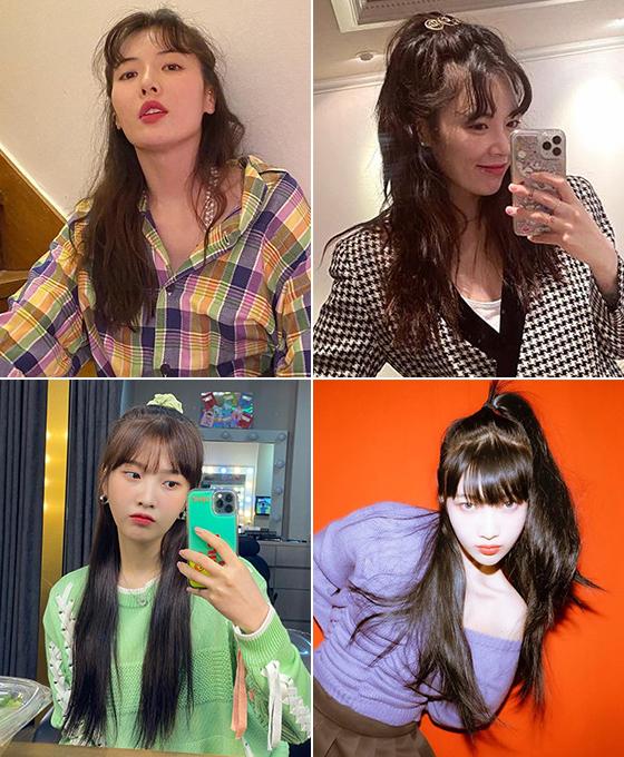 가수 현아, 그룹 레드벨벳 조이/사진=각 스타 인스타그램