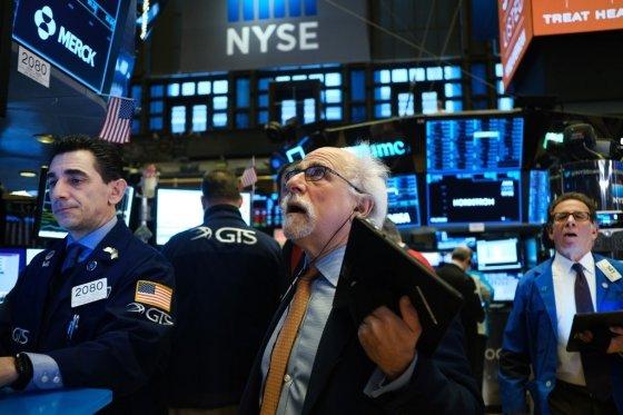 미국 뉴욕증권거래소(NYSE)/사진=AFP
