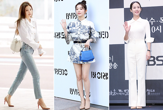 그룹 블랙핑크 제니, 레드벨벳 아이린, 배우 조여정/사진=샤넬, 뉴스1, 머니투데이 DB