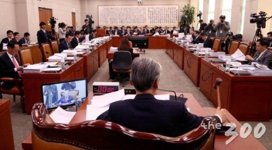 법제사법위원회 전체회의. /사진=홍봉진 기자