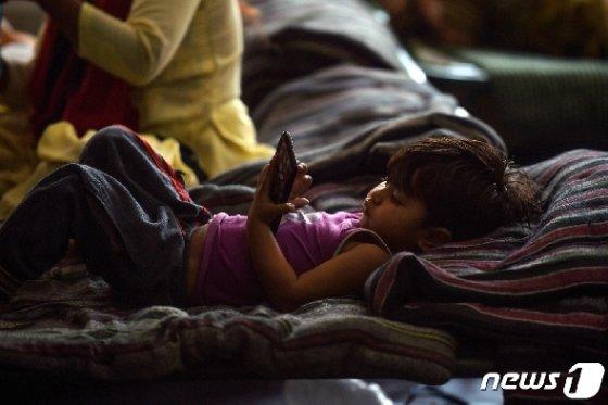 인도의 이재민 수용소 © AFP=뉴스1