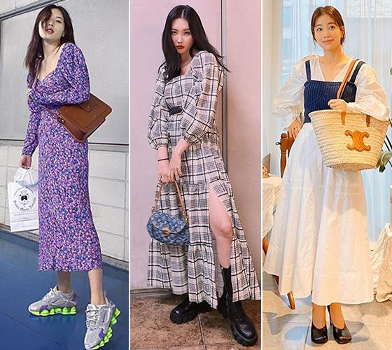 가수 현아, 선미, 배우 기은세/사진=각 스타 인스타그램
