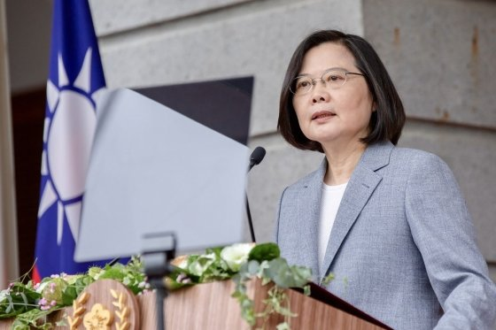 차이잉원 대만 총통/사진=AFP