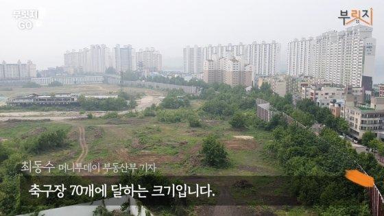 서울시 용산구 용산정비창 부지 전경 /사진=부릿지 캡쳐