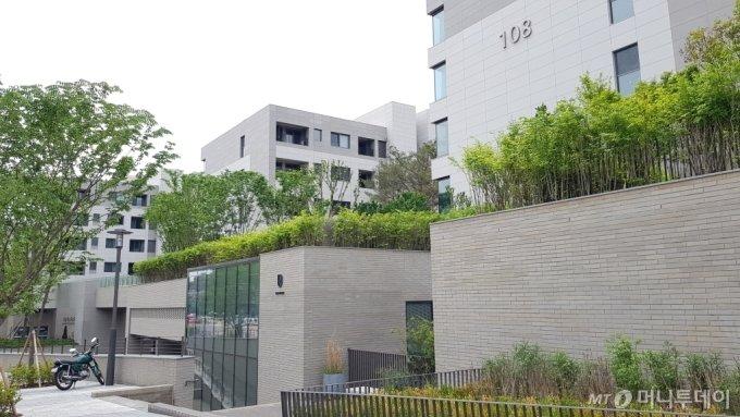 용산구 한남동 '나인원한남' 단지 모습/사진= 박미주 기자