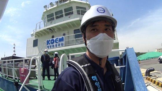 청항선의 캡틴, 정재욱 선장님./사진=남형도 기자