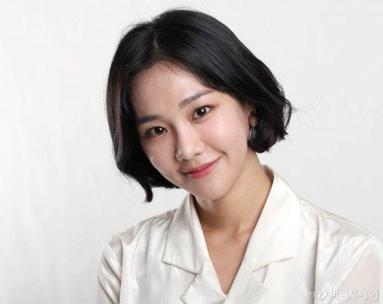 24일 배우 한지은 사내인터뷰 영화 창궐 / 사진=홍봉진기자 honggga@